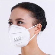 20/50 PCS High-efficiency filter cotton Non-woven PP Antivirus and dust mask Comfortable hanging ear