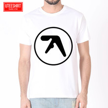 Men Aphex twin Famous Women Harajuku Short Sleeves T shirt Unisex Skateboard Tshirt Clothes Streewear
