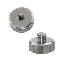 Kayulin Screw Adapter 1/4 inch Female to 3/8 inch Male  For camera & tripod & monopod Photo Studio
