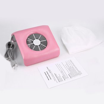 Nail Manicure Dust Collector 2700rpm Art Equipment Cleaner Salon Tool Machine UV Gel Nail Polish Suction Vacuum Cleaning