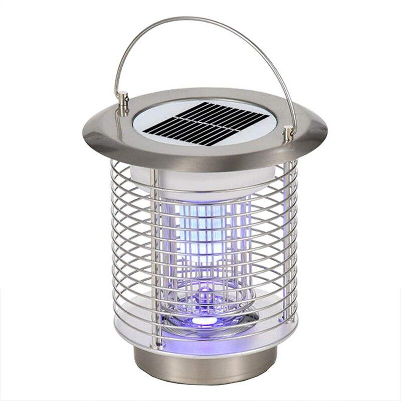 Lámpara eléctrica Solar antimosquitos Bugs Fly, lámparas de luz LED modernas de jardín interior y exterior para casa y jardín residencial DN25(G1.0