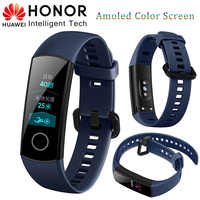 "Originale Huawei Honor Band 3/4 Intelligente Wristband Honor Fascia 4 Fitness Braccialetto 0.91 ""OLED Touchpad Monitor di Frequenza Cardiaca di Smartband"