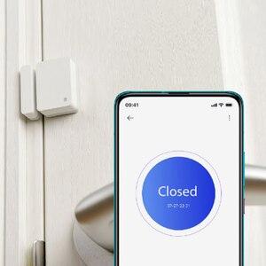 Image 2 - Xiaomi เซ็นเซอร์ประตูหน้าต่างขนาดกระเป๋า Xiaomi Smart Home ชุดปลุกทำงานร่วมกับ GATEWAY Mijia Mi Home APP