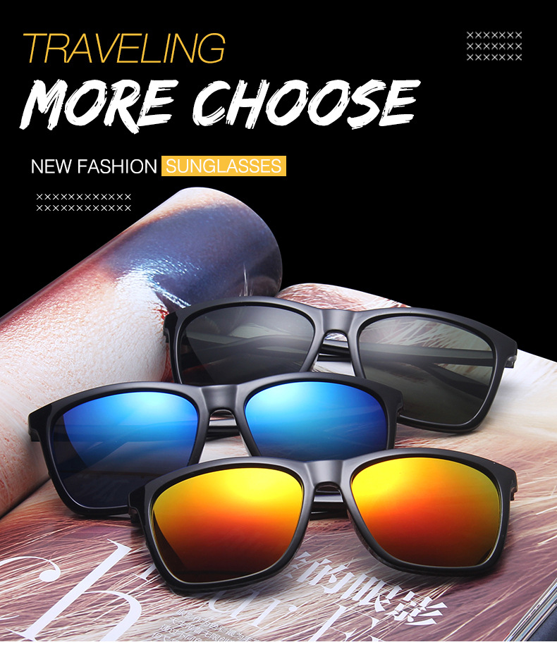 Aluminum Magnesium Men Polarized Sunglasses