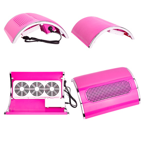 Image 2 - Powerful 3 Fan Nail Dust Suction Collector with 2 Dust Collecting Bags  Vacuum Cleaner Manicure Tools