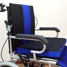 Almofada respirável assento cadeira de rodas travesseiro almofada anti-decubitus apoio lombar assento almofada cadeira de escritório travesseiro casa têxtil