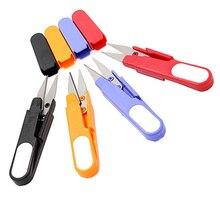 I Pcs пластиковая ручка Защитная крышка швейные ножницы резьба вышивка крестиком резак u-образные Ножницы DIY принадлежности инструмент