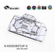 Water-Cooling-Block RTX3080 ASUS GPU Bykski for VGA 3090 O24G Gaming/tuf O10G AURA SYNC