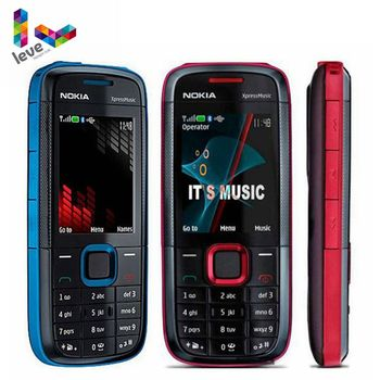 Original Unlocked Nokia 5130 XpressMusic 5130XM Mobile Phone Bluetooth FM Support Russian Keyboard Cell Phone Free Shipping