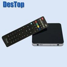 Original mini conjunto superior caixa tvip 605 linux 4.4 doppio sistema suporte h.265 1920x1080 3840x2160 quad core tvip 605 venda quente