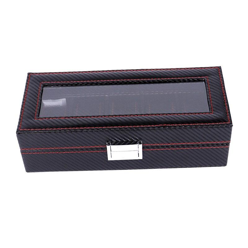de carbono caixa de armazenamento de relógio
