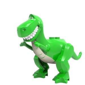 Toy Story 4 Buzz Lightyear Woody Jessie Alien Sergeant Zurg Model Building Blocks Enlighten Action Figure Toys For Children(China)