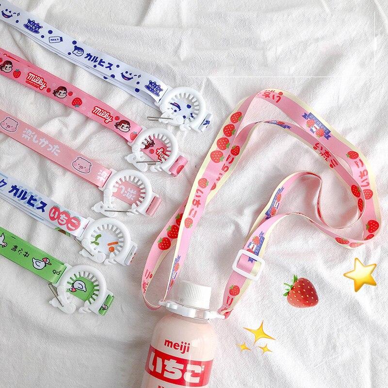 Travel Accessorises Portable Cute Water Bottle Buckle Lanyard Back Belt Luggage Bag Baby Beverage Bottle Buckle Clips Organizer