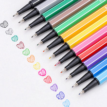 Colour Pen Marker Art-Supplies School-Accessories Manga Fineliner Stationery Drawing