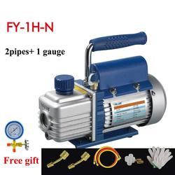 1L pompa próżniowa FY-1H-N powietrza conditioni dodać fluorek narzędzie zestaw pompy próżniowej z czynnik chłodniczy stół miernik ciśnienia czynnika chłodniczego rury