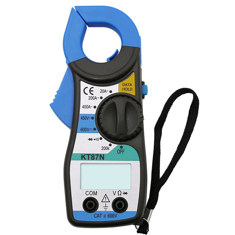 KT87N Digital Multimeter Amper Clamp Meter Current Clamp Pincers <font><b>AC</b></font> DC Current Voltage Tester Pinza Amperimetrica Digital image