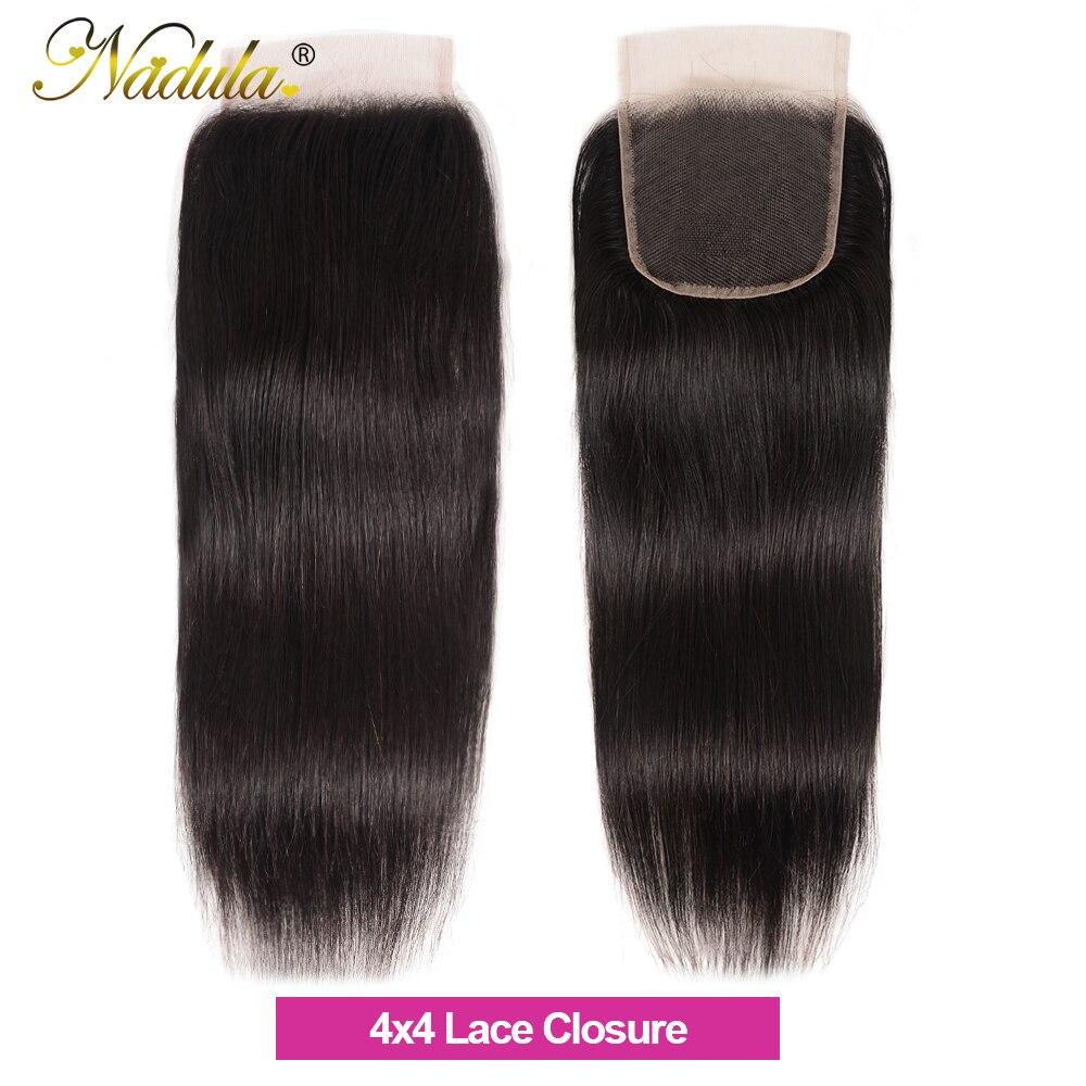 Nadula Hair 5x5 HD Lace Closure Middle Part /Free Part  Body Wave Closure 10-20INCH Swiss Lace Closure 100%  4