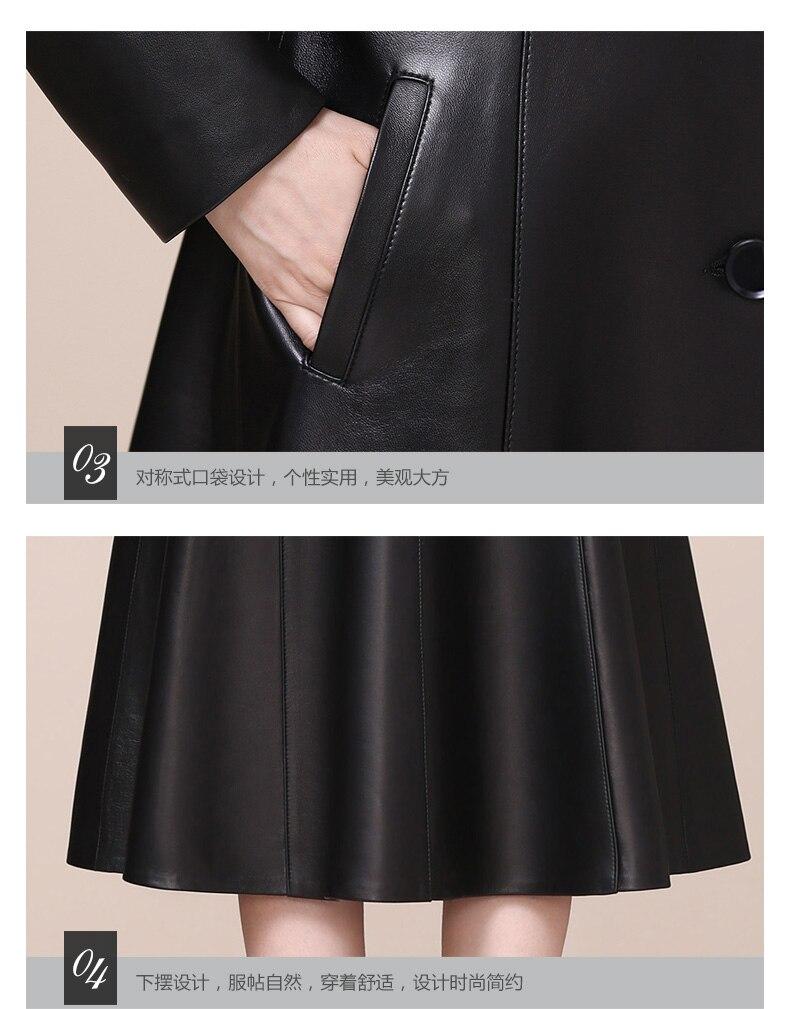 size jaqueta de couro feminino 2021 5xl 6xl 7xl