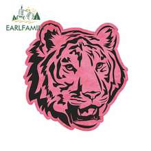 EARLFAMILY 13cm x for Pink Sugar Skulls Funny Car Stickers Bumper Trunk Graphics Windows Waterproof Accessories