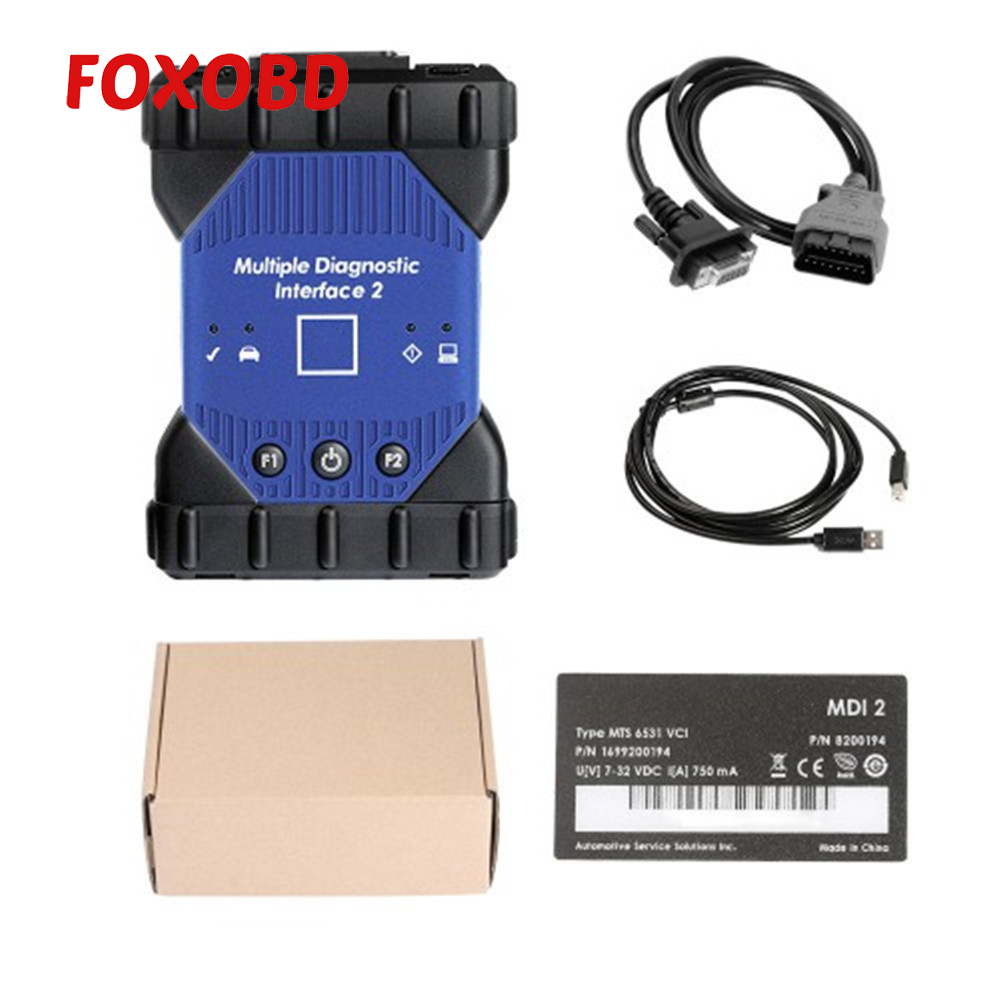 2019 For GM MDI II 2 Multiplexer Diagnostic Interface Wifi Diagnosis ECU Programming And Flashing Without Software