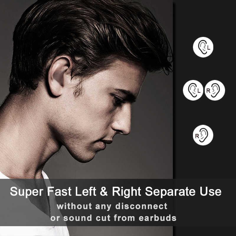 Nova i500 tws 2 gerações replica1: 1 bluetooth fone de ouvido uso separado qi sem fio fone de ouvido 5d super bass pk i20 i60 i80 i100 i12