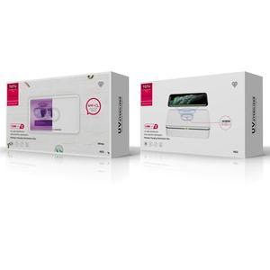 Image 4 - TOTU Wireless Charging Sterilization Box Smartphone Sterilizer UV Light Box Disinfection for iPhone 8 8Plus X XS Max 11 Pro Max