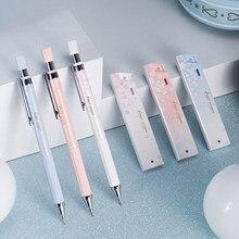 Belle cerise fraîche Sakura ensemble de crayons mécaniques mignon Gril étudiant 0.5mm automatique presse crayon école bureau écriture fournitures