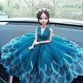 Украшение для свадебного автомобиля  украшение интерьера  куклы  милый мультяшный Забавный рисунок для свадебной приборной панели автомоб...