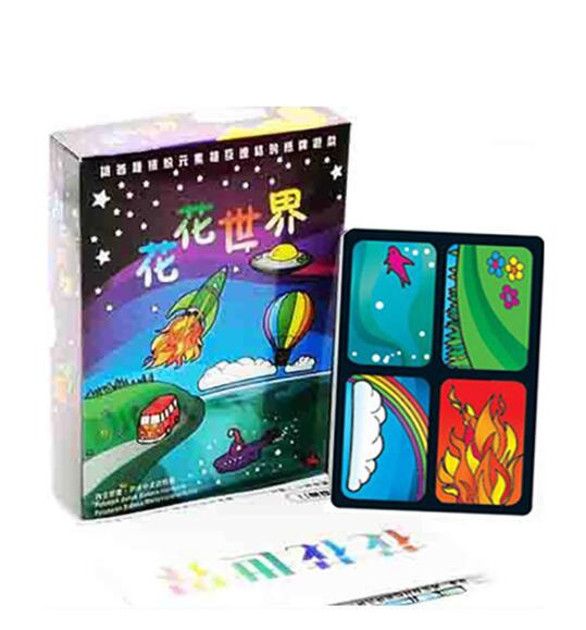 New Aquarius Card Game Popular Strategy Board Games Party Funy Flowers Girl Board Games