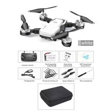 HJ28-1 Foldable 5MP Camera RC Drone Wifi FPV Altitude Hold Gesture Photo/Video RC Quadcopter With Storage Bag & 2PCS Batteries jjr c jjrc t49 sol ultrathin wifi 720p camera fpv selfie drone auto foldable arm altitude hold rc quadcopter vs h37 h47 e57