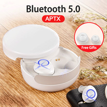 TWS Bluetooth 5.0 Wireless Headphone Earphone Mini Sport Bass Earbuds