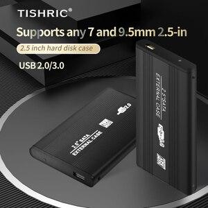 TISHRIC 2,5 дюймов Hdd чехол Sata Поддержка 8 ТБ футляр для внешнего жесткого диска чехол для жесткого диска с USB 3,0 жесткий диск чехол Корпус для жесткого диска