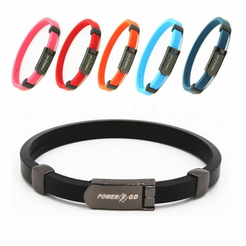 Anti Static Bracelet Adjustable Negative Ion Silicone Bracelet Remove The Body Static Men Women Wristband Safety Working Sport