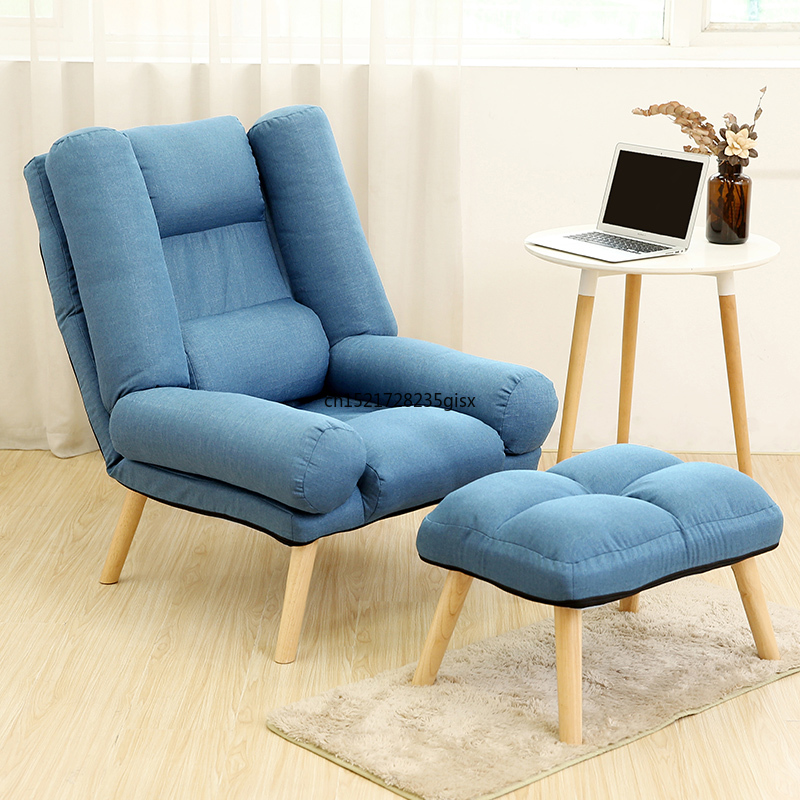 Comfortable sofa  early rise  folding chair  convenient sofa  simple chair  bedroom  North Ouyang terrace  upright small family|  -