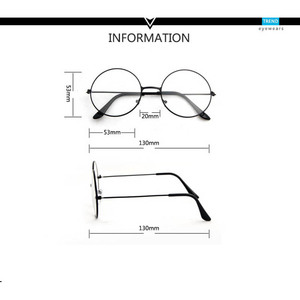 2020 round eyeglasses glasses frame men/women clear fake glasses eyeglass round eye glasses frames for women/men