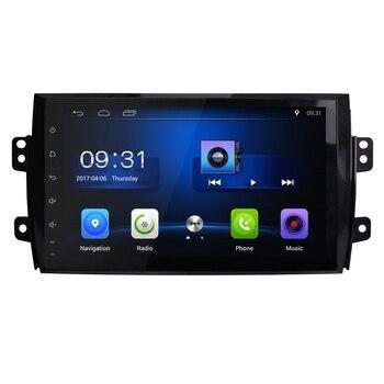 2 din Android gps For Suzuki SX4 2006 2007 2008 2009 2010 2011 2012 2Din 자동차 라디오 테이프 레코더 스테레오 WIFI RDS 자동차 dvd 플레이어