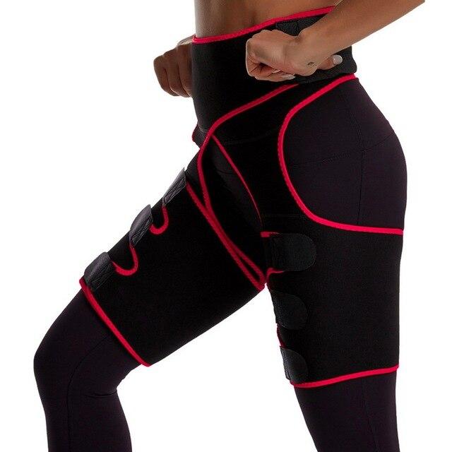 NEW Thing Waist Wrap Neoprene Thigh Shaper Sweat Thigh Trimmers Leg Shaper Lose Weight Slimming Belt Butt Lifter Compress Belt 1