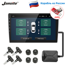 Jansite USB TPMS Car Tire Pressure Alarm Monitor System for Car Android Navigation player with four external internal sensors