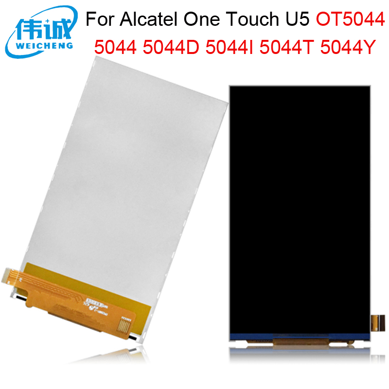 5.0''For <font><b>Alcatel</b></font> One Touch U5 5044 5044D 5044I <font><b>5044T</b></font> 5044Y OT5044 Lcd Display+Touch Screen Digitizer Replacement Parts image