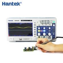 Hantek om 200mhz 2 ch 1gsa/s 7 '', osciloscópio de armazenamento digital lcd