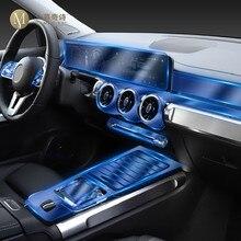 Para mercedes benz glb 200 220 250 2019-2020 carro interior console central transparente tpu película protetora anti-risco acessórios