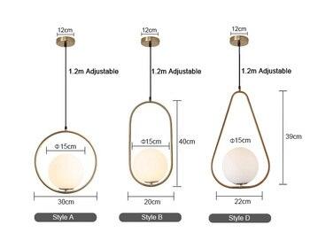 Nordic Minimalistic Pendant Lamps Bathroom Bedroom Departments Dining Room Entryway Lighting Living Room Rooms