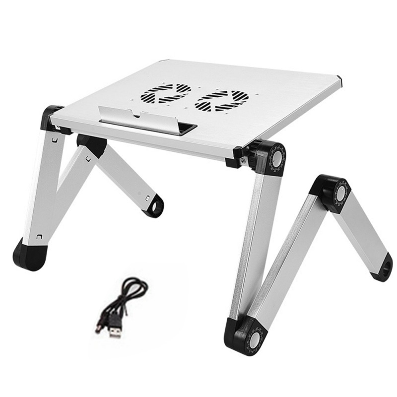 Free Ship½Notebook Bed-Tray Table-Stand Desk Ergonomic Mouse-Pad Laptop Adjustable Aluminum PC