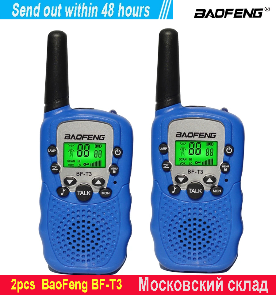Kids Radio Walkie-Talkie BFT3 Mini Children's Baofeng for Birthday-gift/Bft3/Christmas-gifts/..
