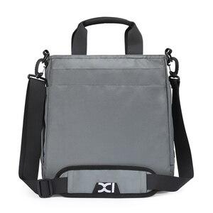 Image 2 - Bolso de mano de alta calidad para hombre, bolsa de hombro masculina de negocios para Ipad de 9,7 pulgadas, bolso de transporte diario urbano, bolso cruzado con muchos bolsillos