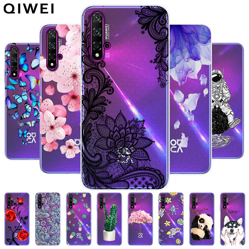 Phone Case For Huawei Nova 5T Cases Ultra Thin Clear Soft TPU Silicon Cover Cases For Huawei Nova 5T Nova5t 5 t Case Fundas Capa