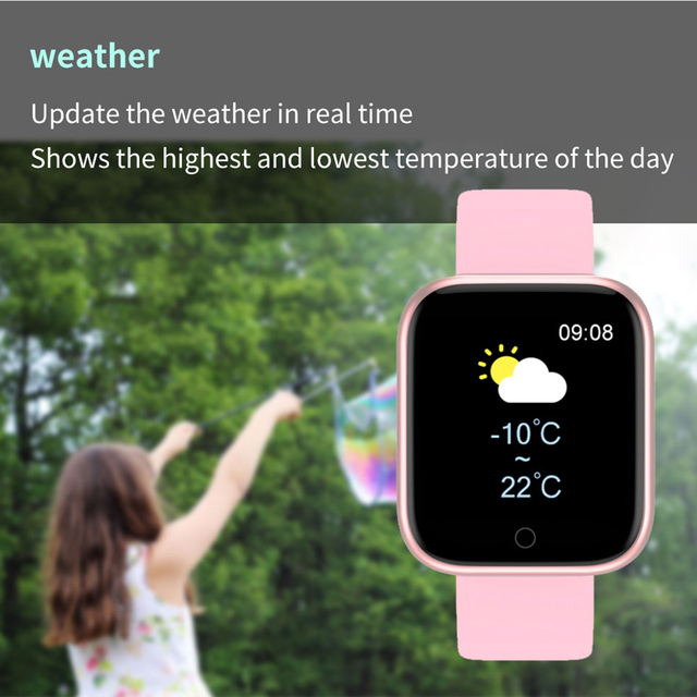 Smart Watch for women for Android iOS Phones 2020 Version IP67 Waterproof, Bluetooth, Heart rate tracker 3