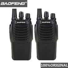 2 قطعة Baofeng BF C1 لاسلكي تخاطب 16CH اتجاهين راديو Woki Toki UHF المحمولة لحم الخنزير راديو CB 5 واط مضيا HF جهاز الإرسال والاستقبال Comunicador