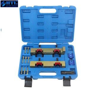 Image 4 - Motor Timing Tool Kit Nockenwelle Locking Tool Set Für Mercedes benz A B C E Klasse M133 M270 M274