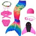 Zeemeerminstaart детский купальный костюм для девочек bluey fantasia детский пляжный бикини для косплея с моноластами хвостом русалки